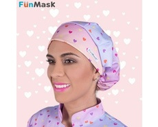 Touca de Elástico Love - Fun Mask